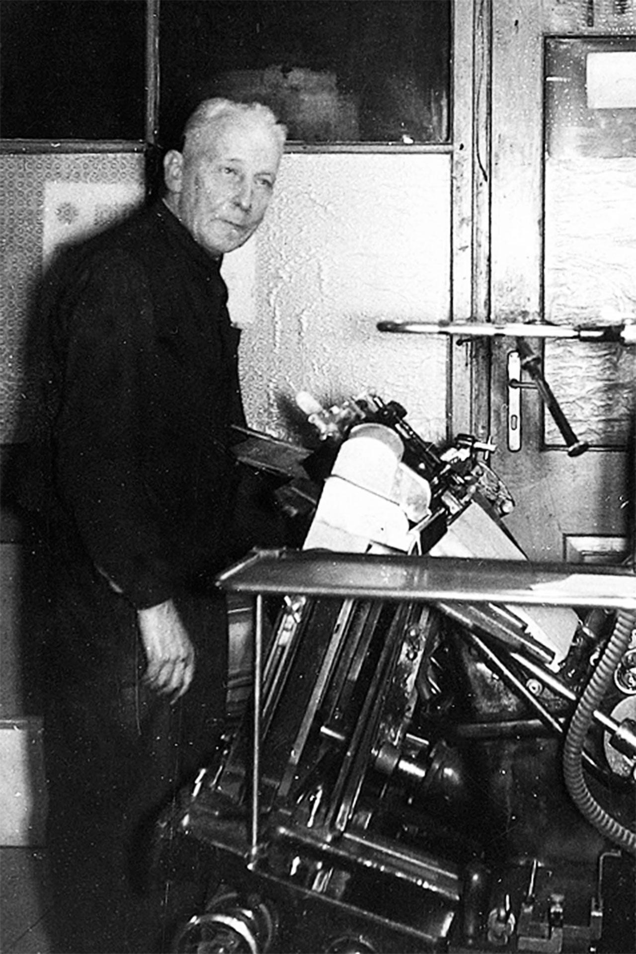 Unternehmensgründer Emil Kapferer